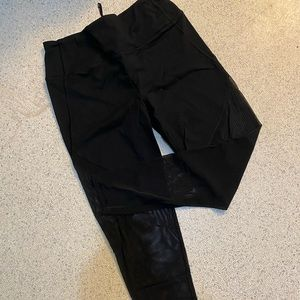 Victoria's Secret Half Mash Leggings